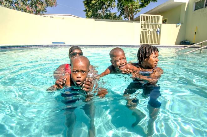 Recent photo of Kay Germaine pool.